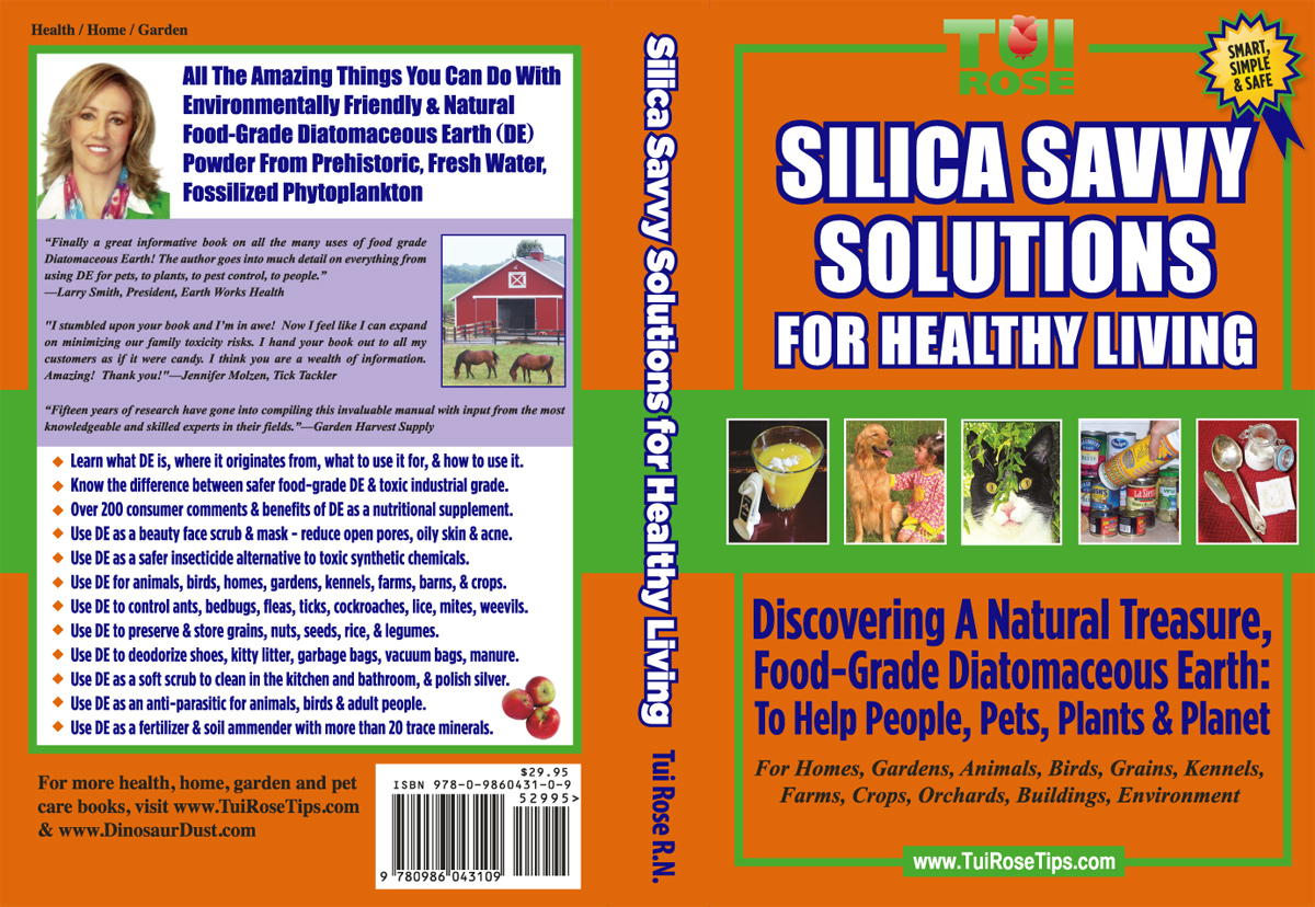 Green Eco Inc Diatomaceous Earth De Products And Tui Rose Book Publishing